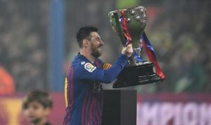 Barcelona Juara Liga Spanyol 2018/2019 (Foto: David Ramos/Getty Images)